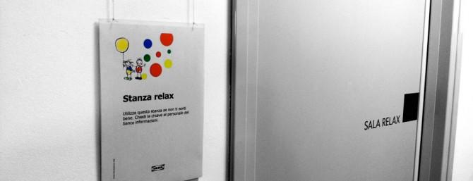 La stanza relax IKEA
